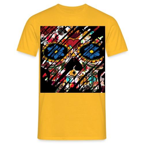 Muerte Schädel - Männer T-Shirt