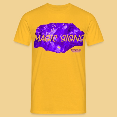 magic purple - Männer T-Shirt