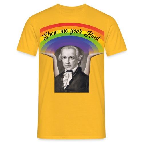 Show Me Your Kant - Männer T-Shirt