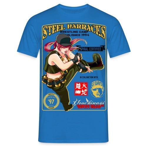wrestling anime - T-shirt Homme