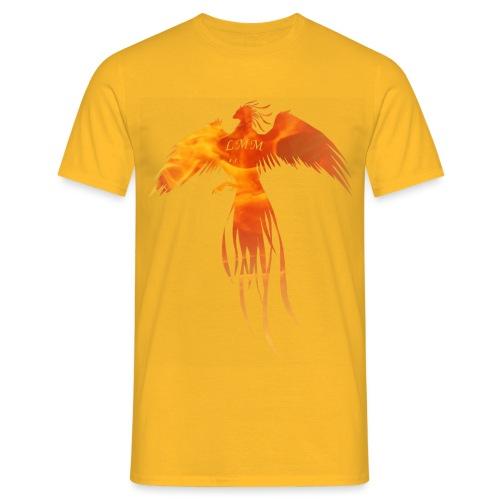Phoenix feu png - T-shirt Homme