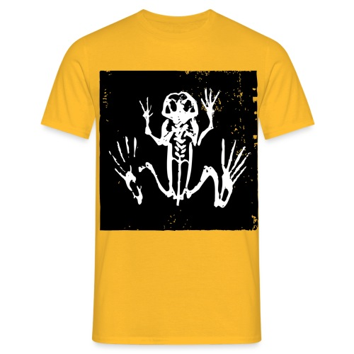 Museum Frog Skeleton - Men's T-Shirt