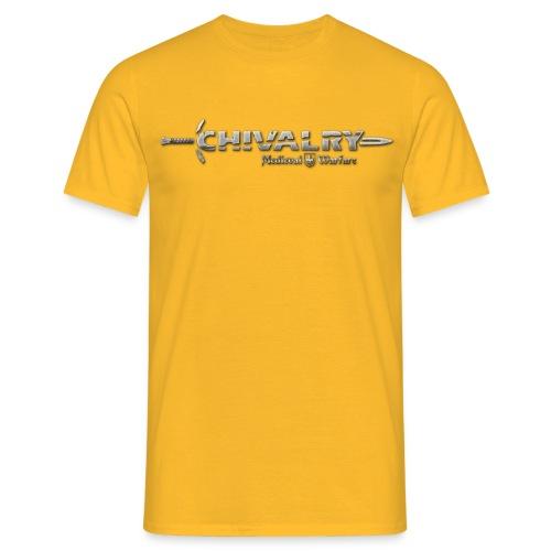chiv logo print - Men's T-Shirt