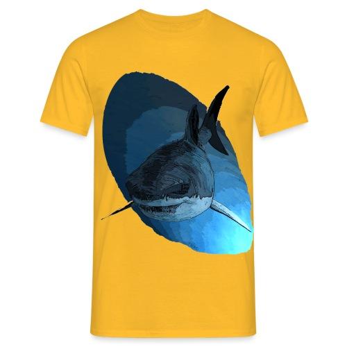 SchattenHaiTRPD - Männer T-Shirt