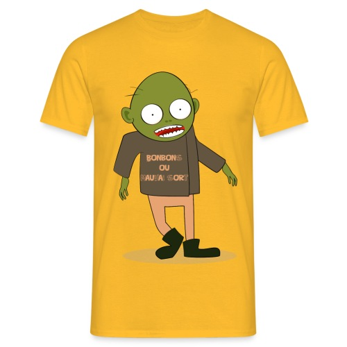 Zombie gourmand - T-shirt Homme