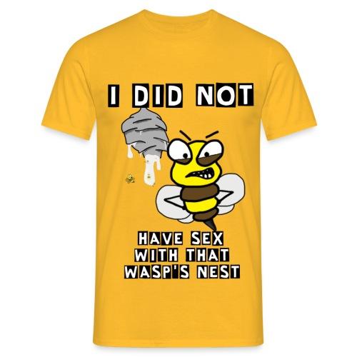 Getingboet NEW png - T-shirt herr