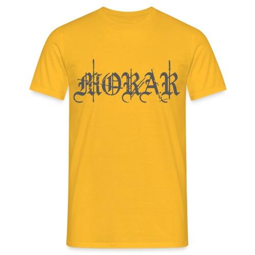 Morar Logo grey png - Men's T-Shirt