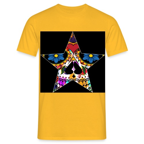 Muerte Star - Männer T-Shirt
