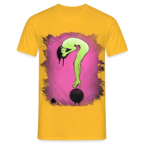 Question Girl - Men's T-Shirt