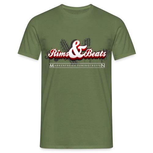 Logo fuer dunkle Shirts png - Männer T-Shirt