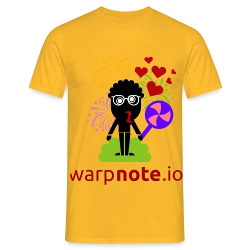 warpnote.io - Männer T-Shirt