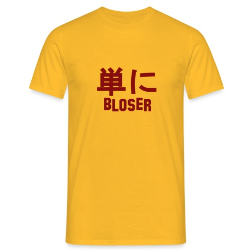 Bloser Design Red - Männer T-Shirt