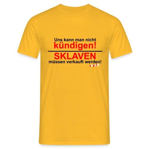 sklaven png - Männer T-Shirt