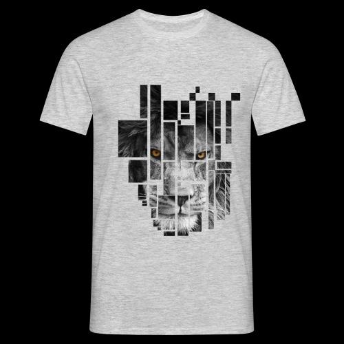 Pixel Lion Tattoo Inspire - Men's T-Shirt