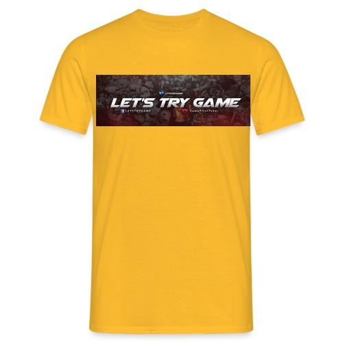 Letstrygame - T-shirt herr