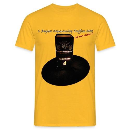 shirtfeuerkorb2 - Männer T-Shirt