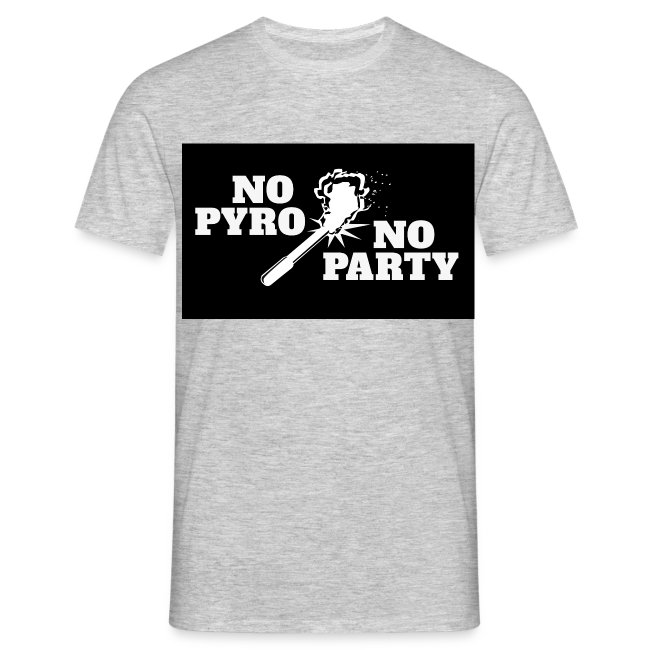 No Pyro No Party Black