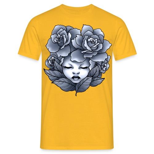 Flower Head - T-shirt Homme