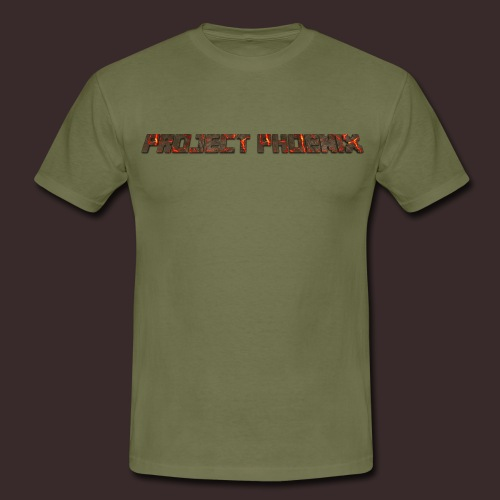 PROJECT-PHOENIX NEW TEXT - Men's T-Shirt