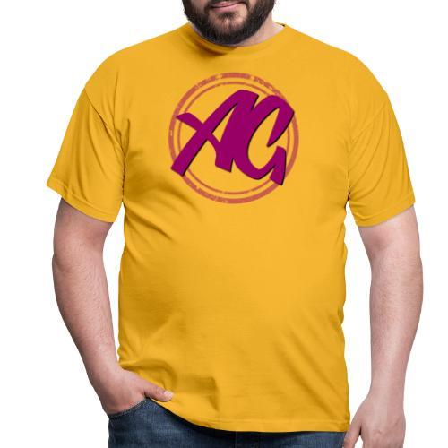 Affinity Gamer Logo - Purple - Men's T-Shirt