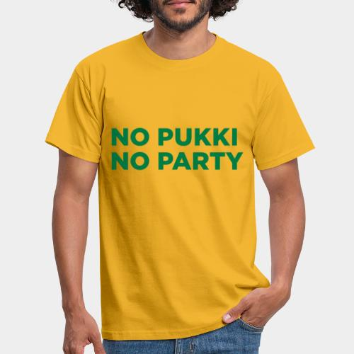 No Pukki, no party - Miesten t-paita