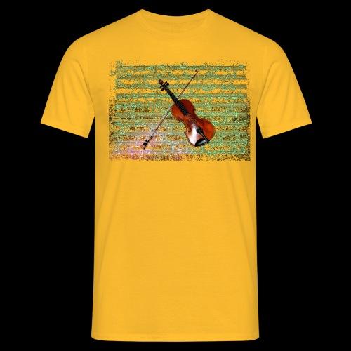 Violin - Men's T-Shirt