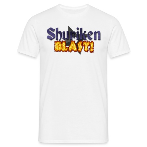 shurikenBlast T shirt design png - Men's T-Shirt