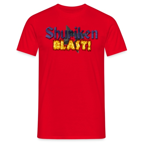shurikenBlast T shirt design png - Men's T-Shirt