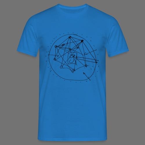 SEO strategia No.1 (musta) - Miesten t-paita