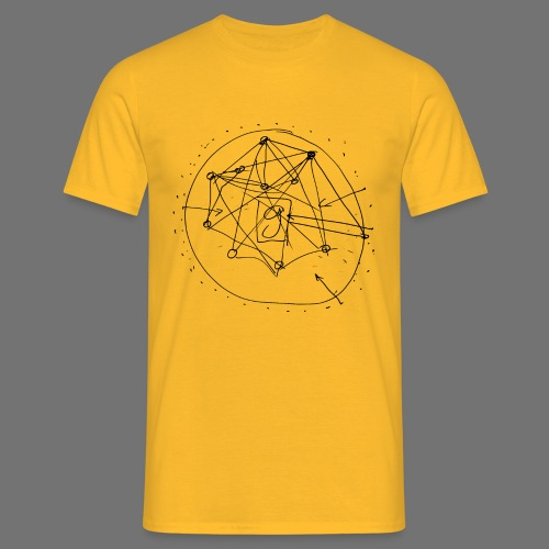 SEO Stratégie n ° 1 (noir) - T-shirt Homme
