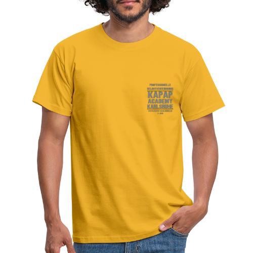 2018 3 KAPAP Academy KA - Männer T-Shirt