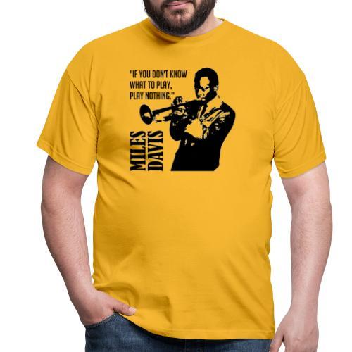 Miles Davis - T-shirt Homme