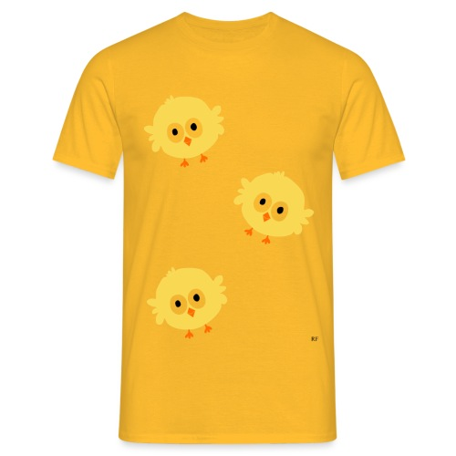 Easter Chicks - Herre-T-shirt
