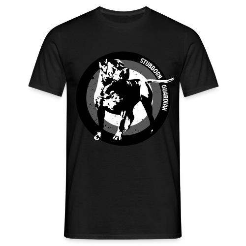 Stubborn Guardian - Miesten t-paita