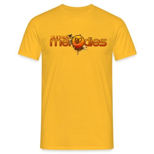 Sunset Melodies - Men's T-Shirt