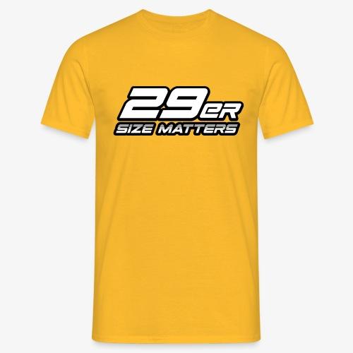 29er size matters - Men's T-Shirt