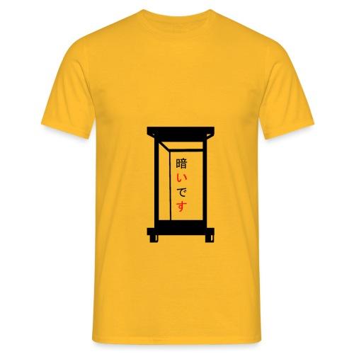lanterne japonaise - T-shirt Homme