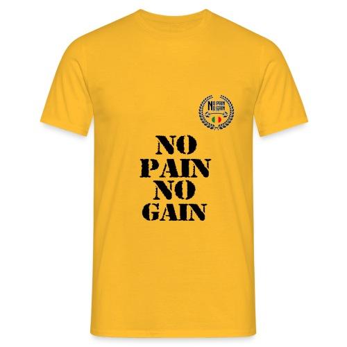 no pain no gain - Maglietta da uomo