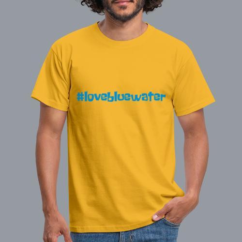 #lovebluewater - Männer T-Shirt