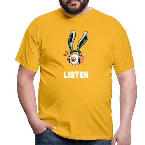 Luister naar de muziek - Mannen T-shirt