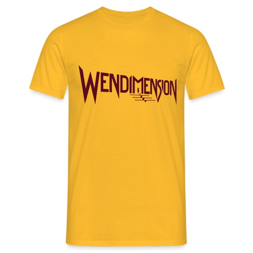wendimension logo - Miesten t-paita
