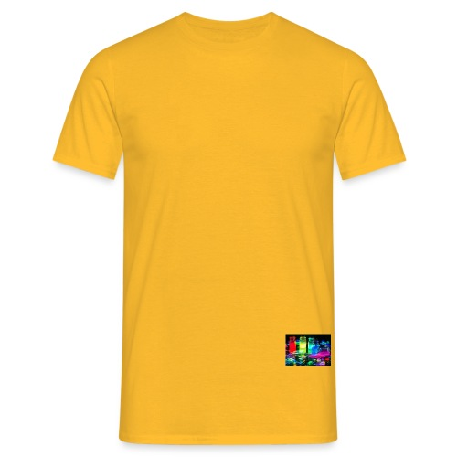 Color Splash - Männer T-Shirt