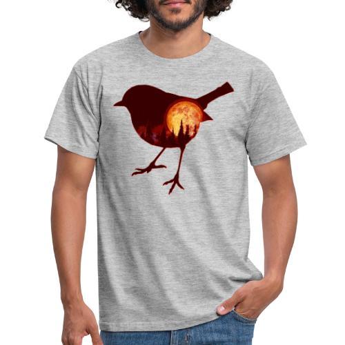 vogel - Mannen T-shirt