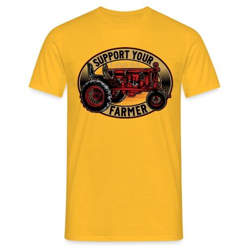SUPPORT YOUR LOCAL FARMER - Männer T-Shirt
