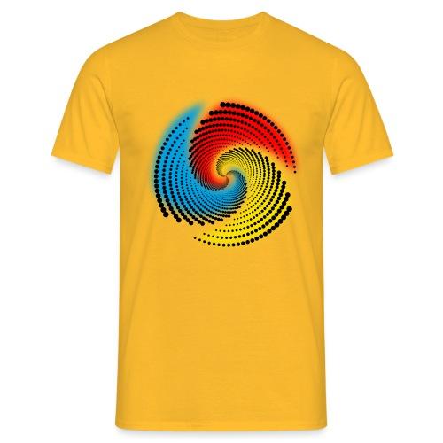 Farbspirale - Männer T-Shirt