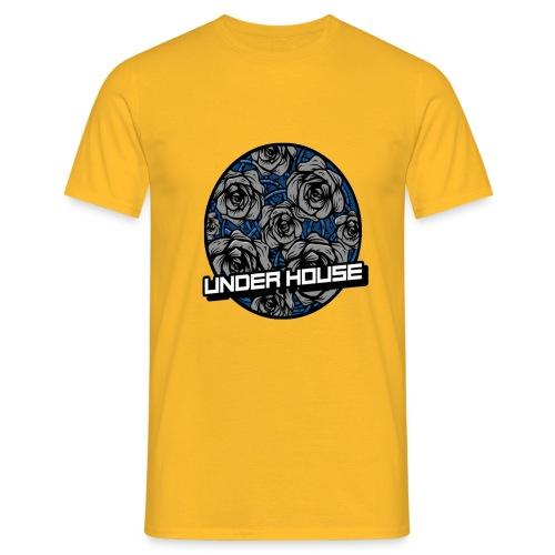 UNDER HOUSE ROSAS - Camiseta hombre