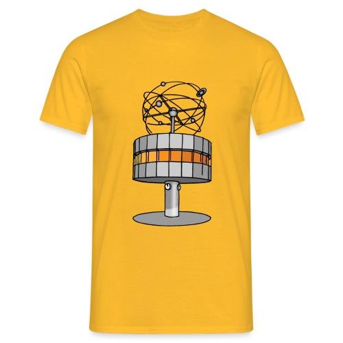 Weltzeituhr BERLIN c - Männer T-Shirt