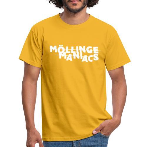 Möllinge Maniacs Vit logga - T-shirt herr