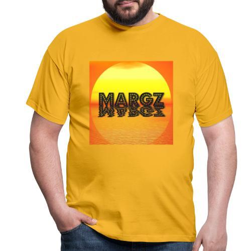 Sunset over Margz - Men's T-Shirt