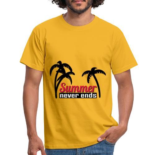 summer never end - Männer T-Shirt